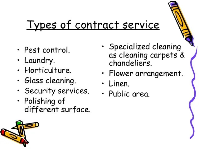 housekeeping contract sample - Towerssconstruction