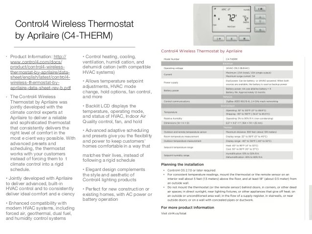 honeywell room thermostat slide control thermostat which replaces