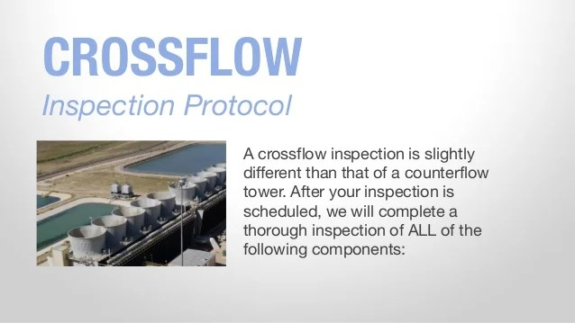 Cooling Tower Inspection Guide
