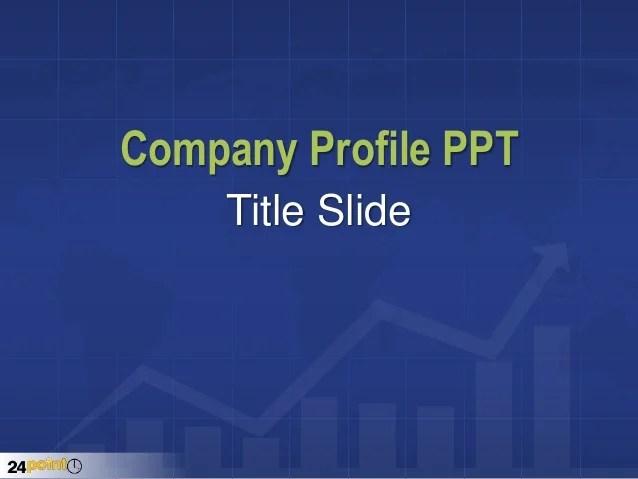 company profile template ppt - Pinarkubkireklamowe