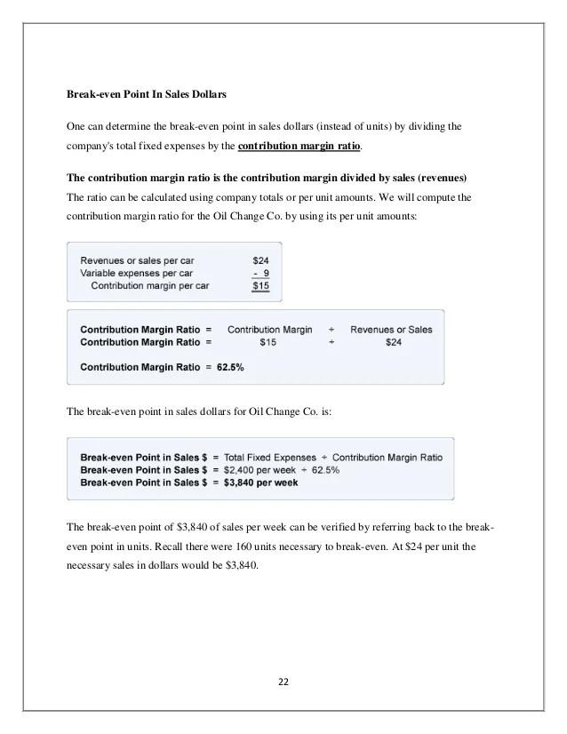 breakeven analysis template - Onwebioinnovate