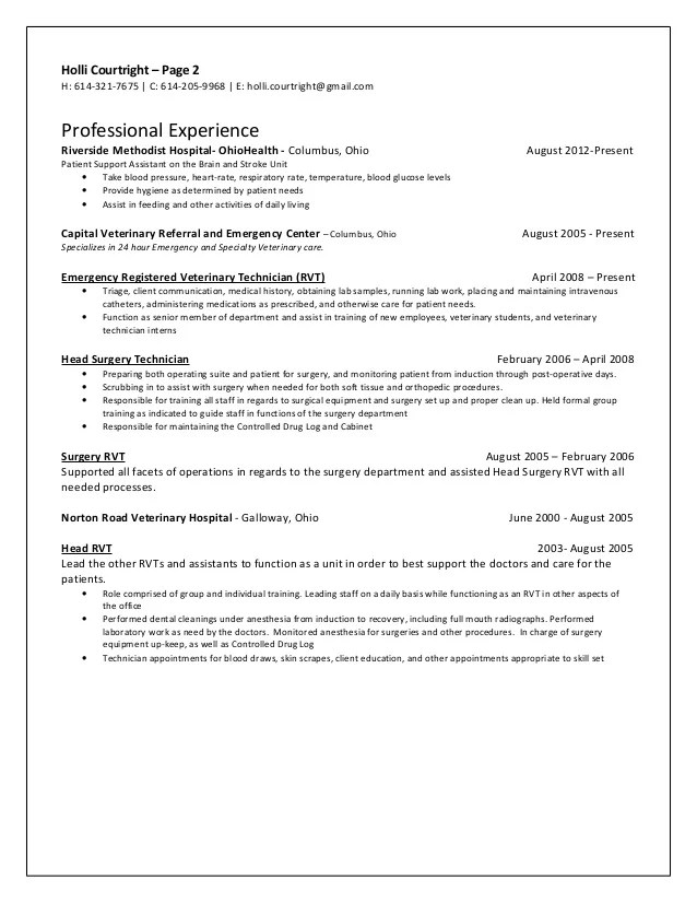 rn resume sample