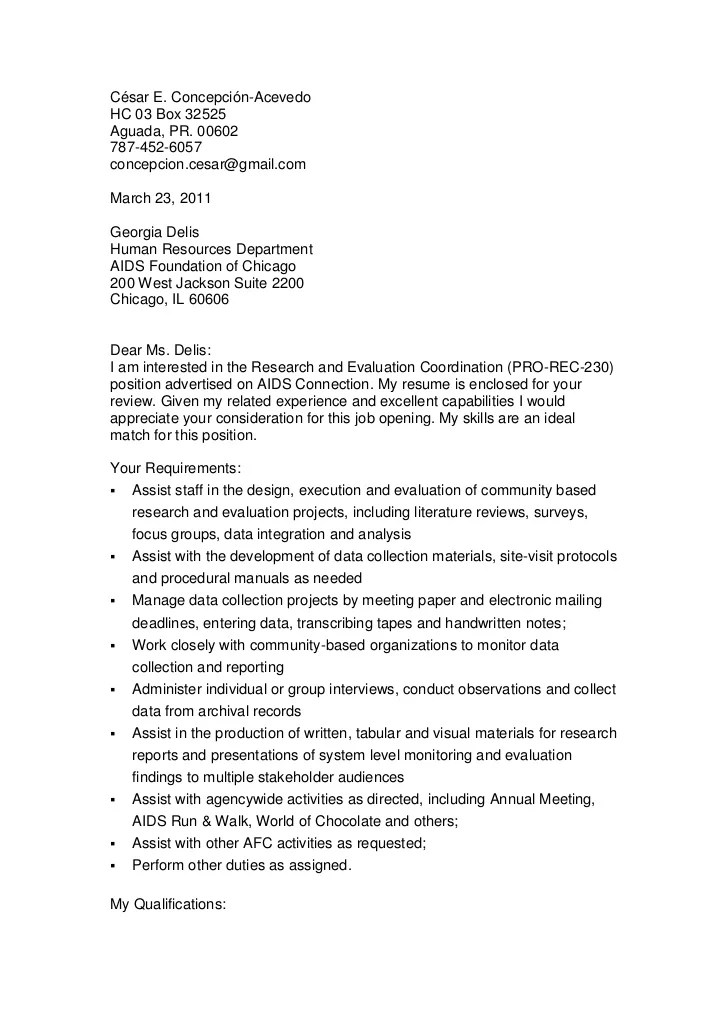 cover letter website