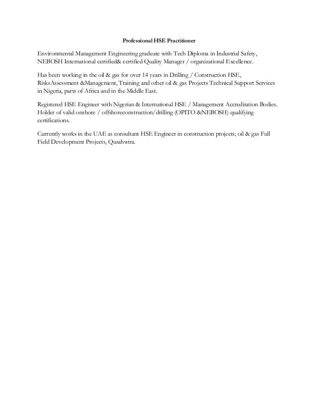 Lijo trasport HSE Resume