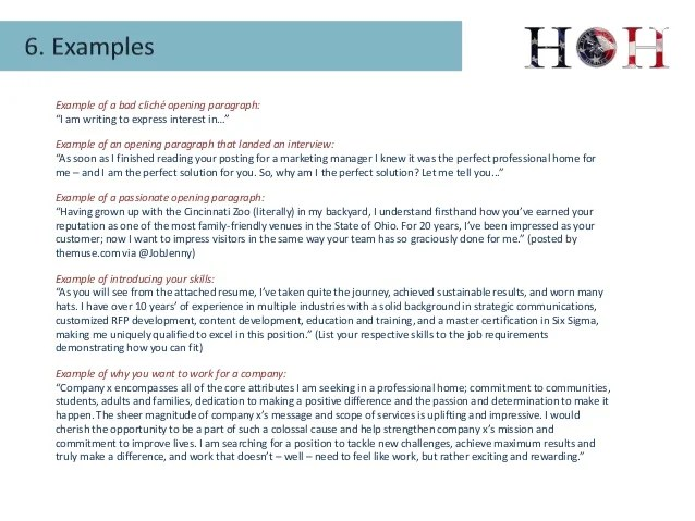 cover letter opening paragraph example - Acurlunamedia