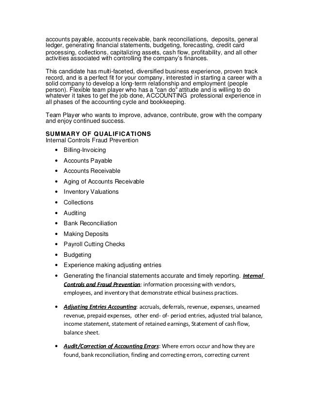 Inventory Auditor Sample Resume] Resume Samples For Customer ...