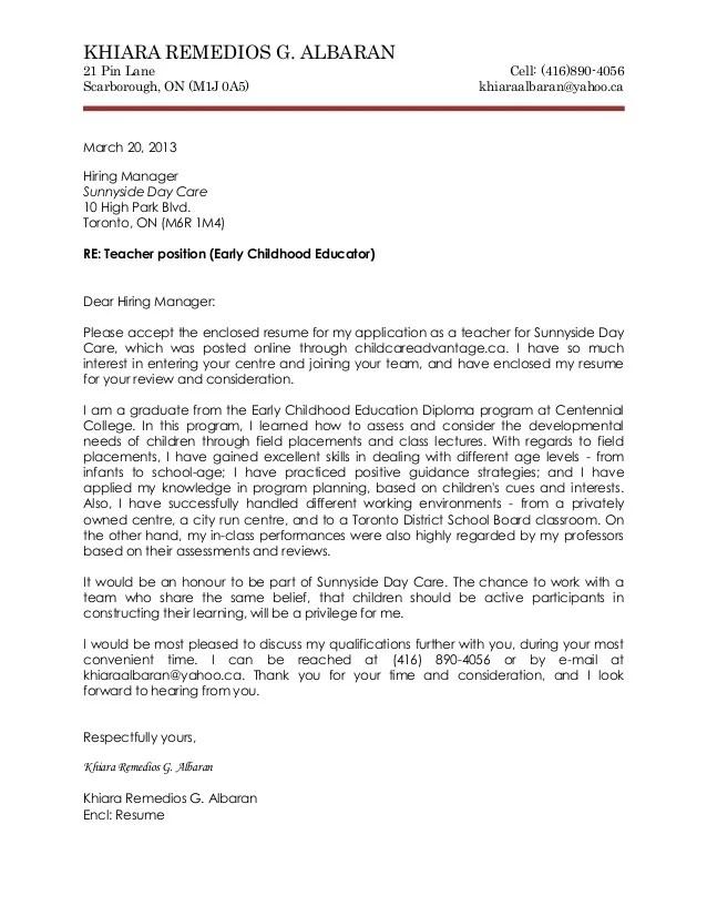 Job Application Letter As Teacher Sample Of Application Letter For Job Vacancy Sample Letters Cover Letter And Resume