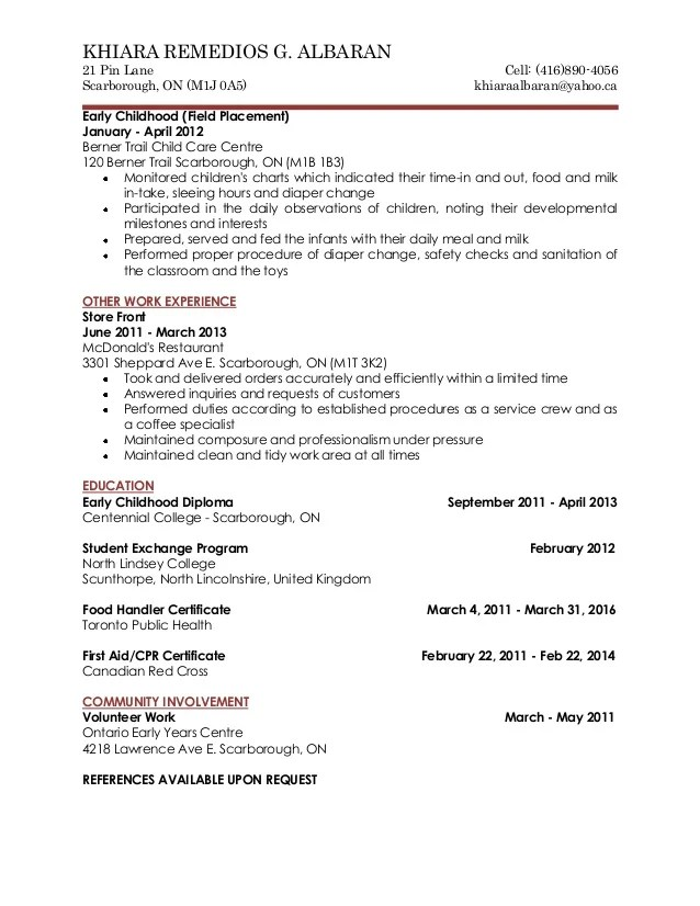 cover letter yahoo