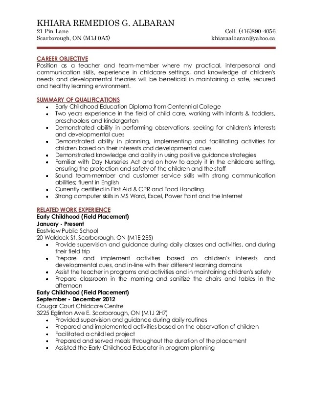 cover letter for early childhood special education teacher General cover letter uploaded by api-242605842  i completed a 9 week placement student teaching as an early childhood special education teacher in early access.