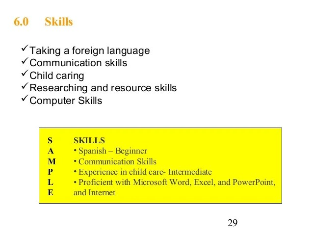 How to list foreign language skills on resume