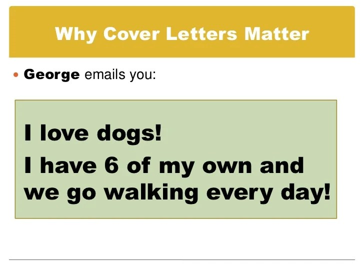 dog walker cover letter