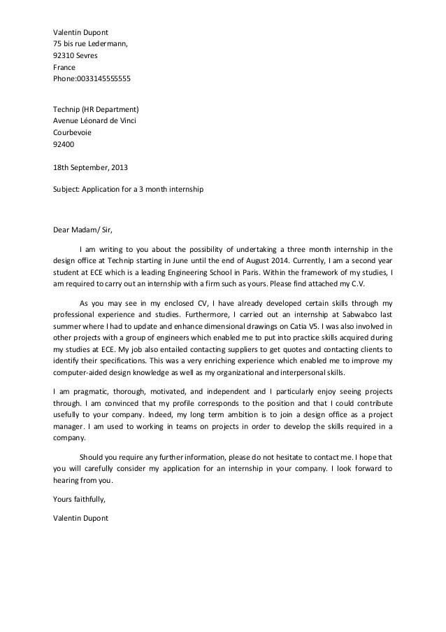 cover letter for veterinarian