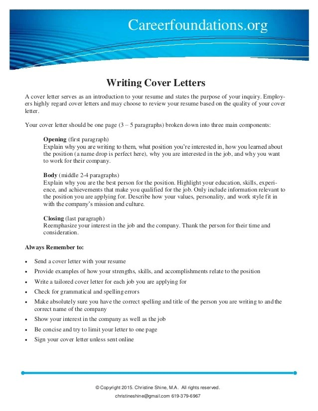 what do i write in a cover letters - Minimfagency