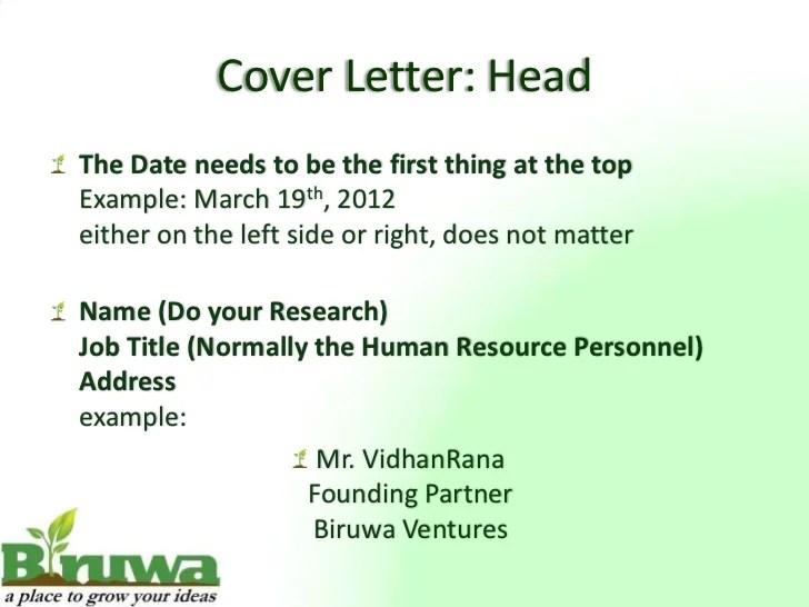 cover letter presentation - Towerssconstruction