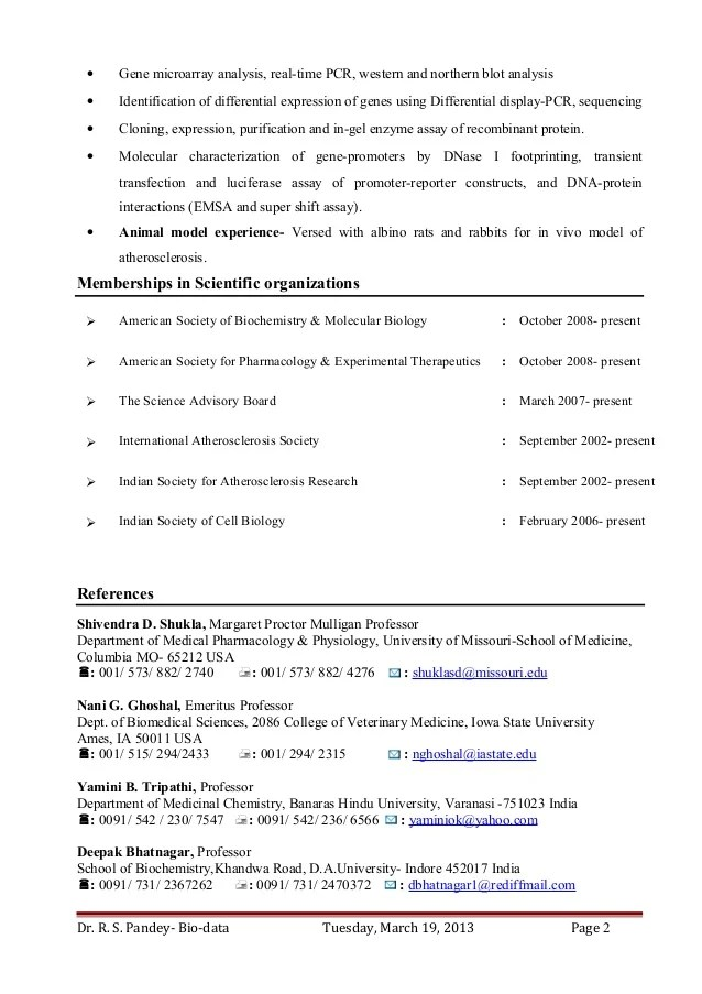 Research Scientist Cover Letter Jobhero Dr Ravi S Pandey Resume For Assistant Professor Research