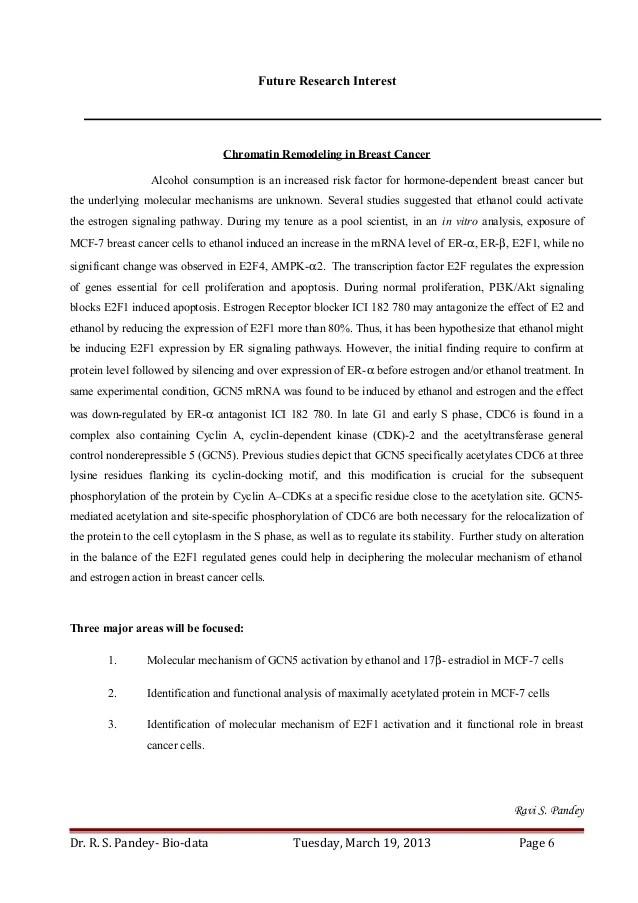 biochemistry resume
