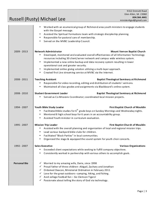 sample youth leader resume - Pinarkubkireklamowe