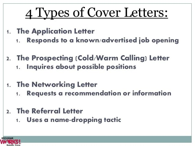 cold calling cover letters