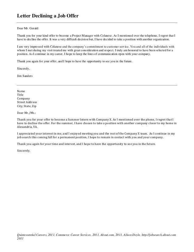 How To Accept A Job Offer Sample Acceptance Letters Cover Letters You Will Always Need