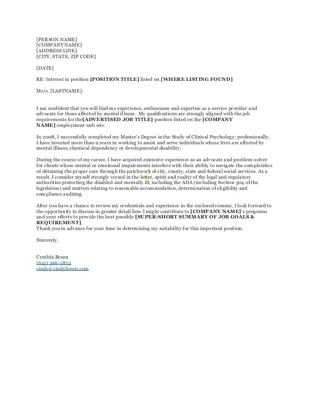 cover letter attn - Josemulinohouse - cover letter attention to