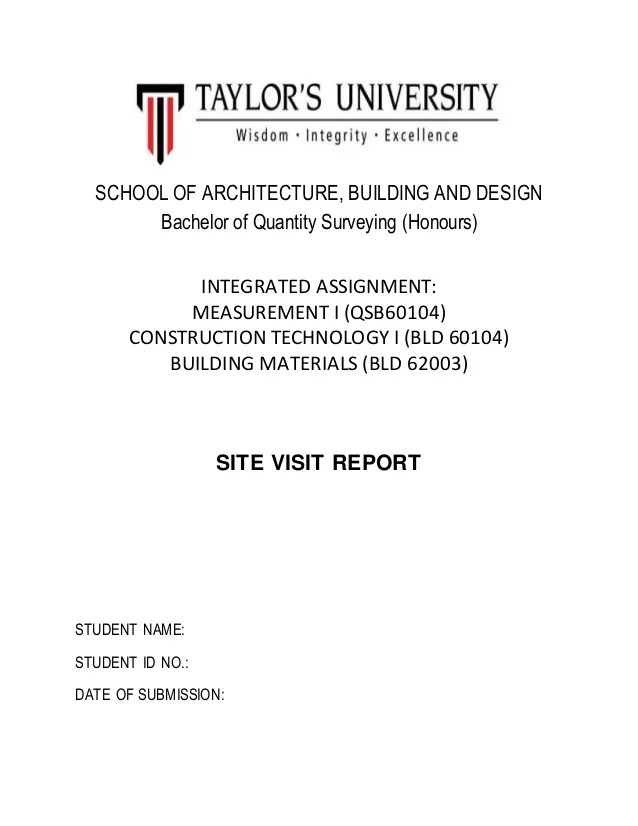 final report cover page - Towerssconstruction