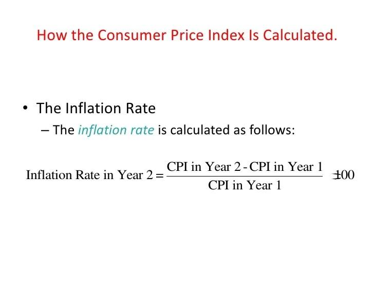 how do you calculate inflation - Acurlunamedia