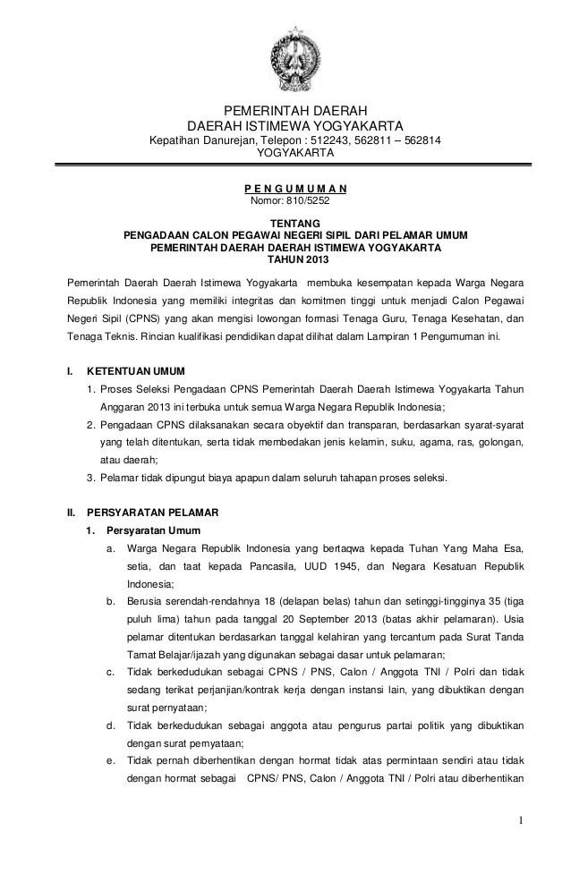 Daftar Cpns Di Yogyakarta 2013 Daftar Nama Nama Kampus Swasta Di Yogyakarta Kampus Info Contoh Surat Lamaran Kerja Terbaru Terbaik Terupdate 2013