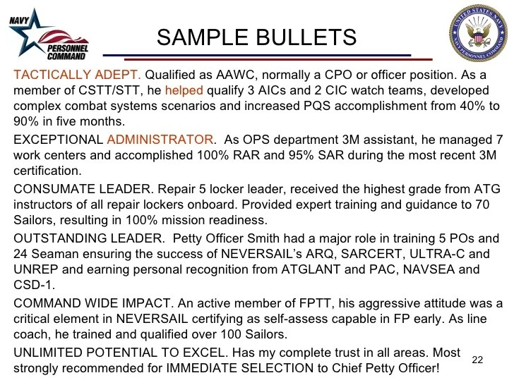 Amazing Cpo Fitrep Observations Ivoiregion