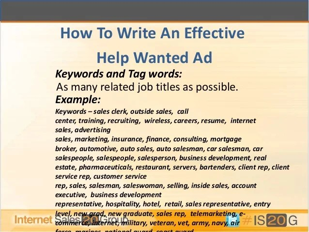ad sales resume examples