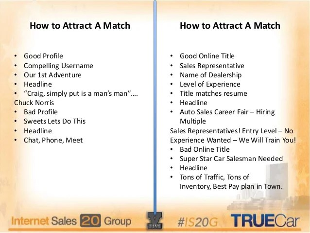 Online dating tagline examples for women