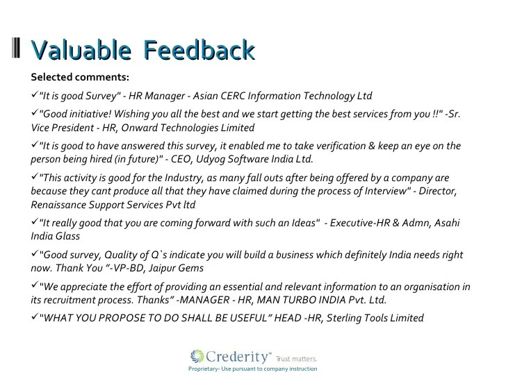 Sample Cv For Hr Manager Careerride Crederity Hr Survey Results 2008 2009 Acceptance Of