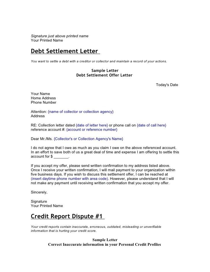 sample letter credit dispute initial credit report dispute letter free sample letters credit and debt dispute