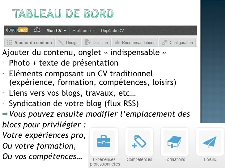 competences informatique cv capacite creer editer video