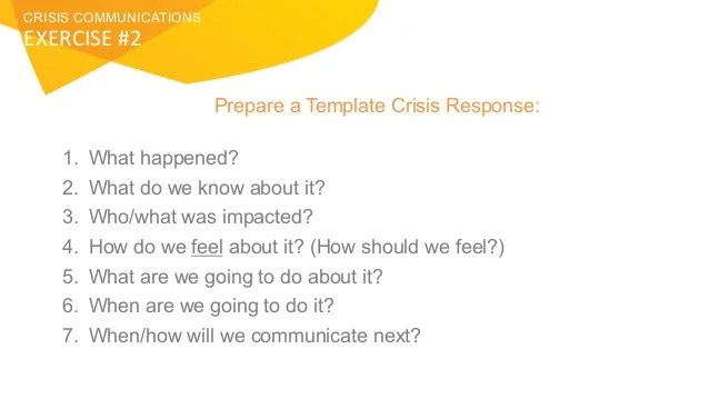 Crisis Plan Template Images - Template Design Ideas