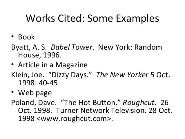 Mla dissertation works cited Essay Help