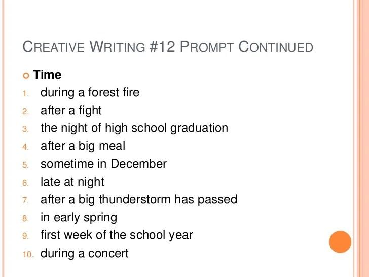Creative Writing analysis essay template