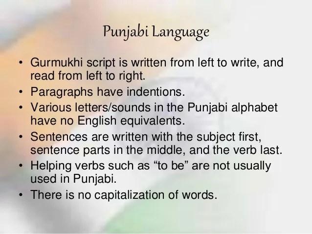 Cultrual diversity -punjab culture