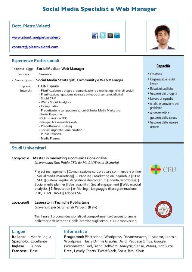Resume Examples And Writing Tips The Balance Curriculum Vitae Pietro Valenti Ita