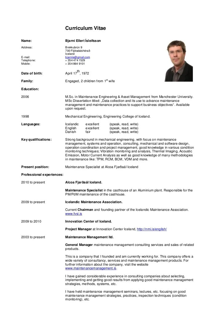 Cv Template For Un Jobs | Resume Pdf Download