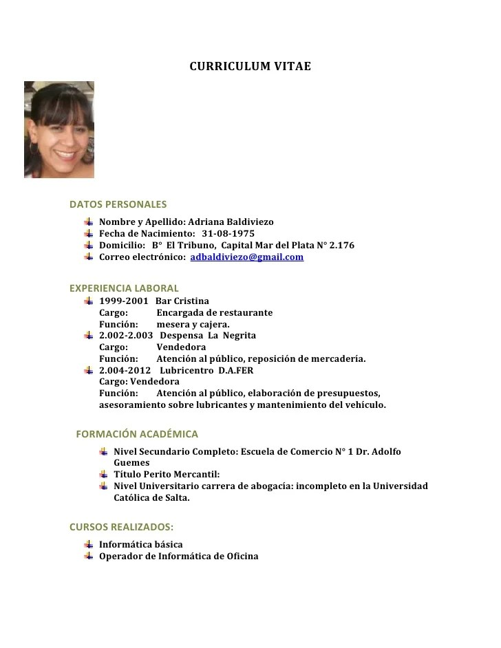 New Curriculum Vitae En Espaol Para Descargar Release, Reviews and ...