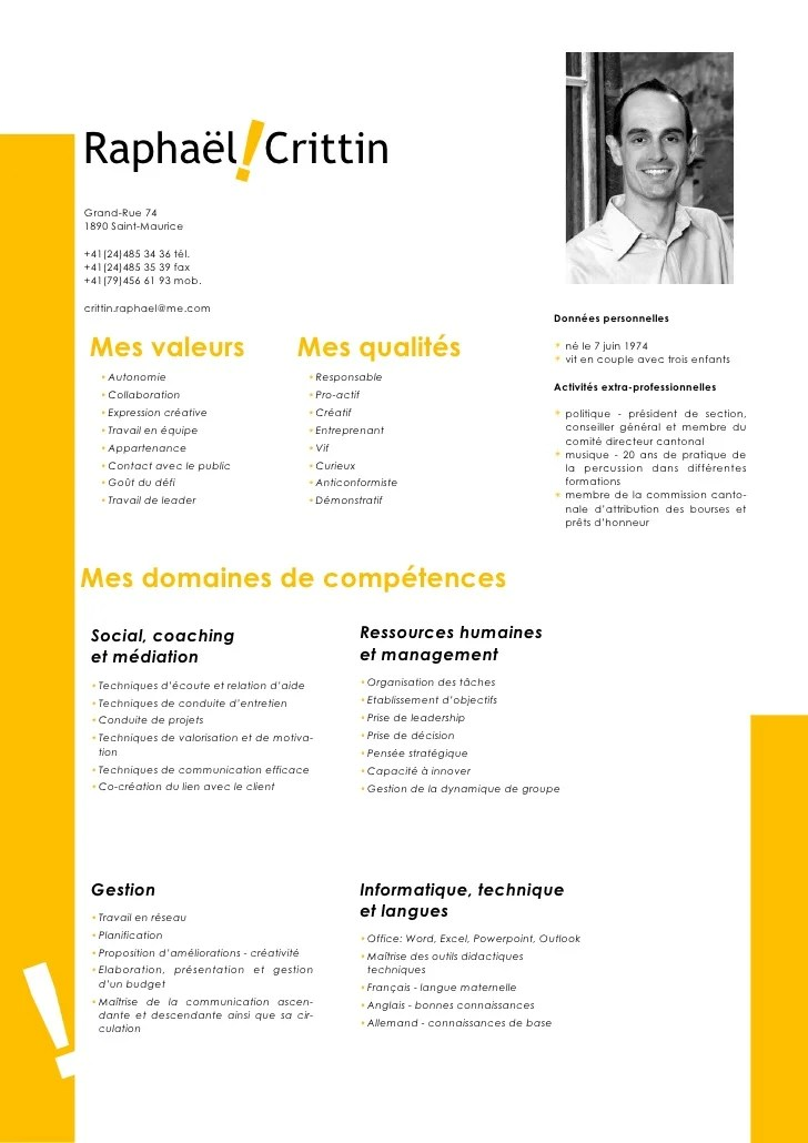 cv educateur specialise anglais