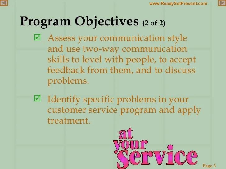 Customer Service Powerpoint
