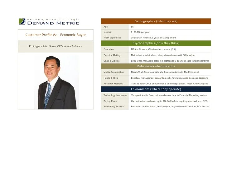 customer profile template word - Alannoscrapleftbehind