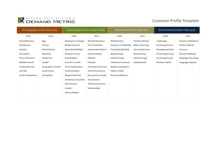 customer profile template word - Alannoscrapleftbehind - company profile template word
