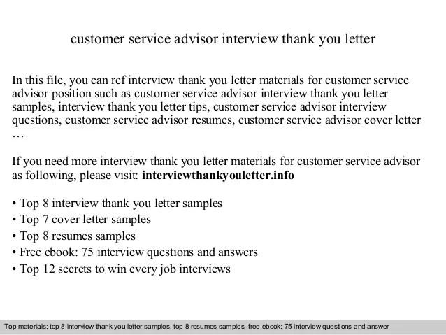 customer service advisor resume samples - Maggilocustdesign