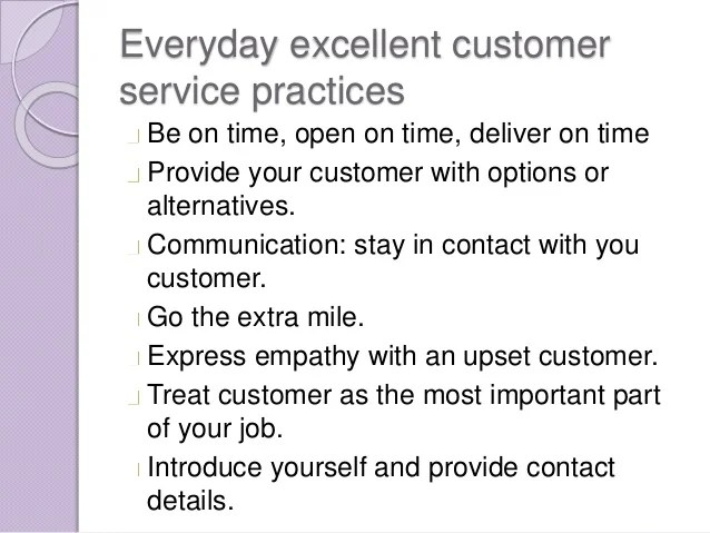 definition excellent customer service - Eczasolinf