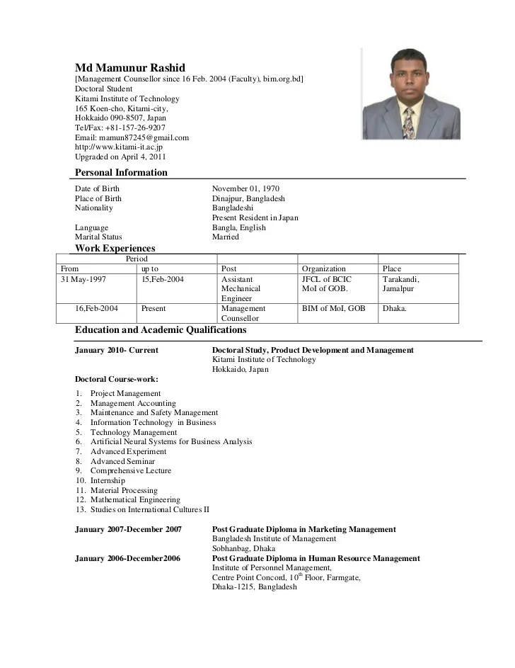 6 Lecturer Resume Samples Examples Download Now Cv