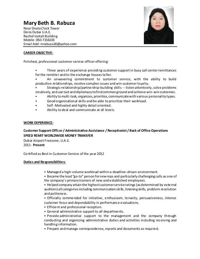 cv pdf dnata