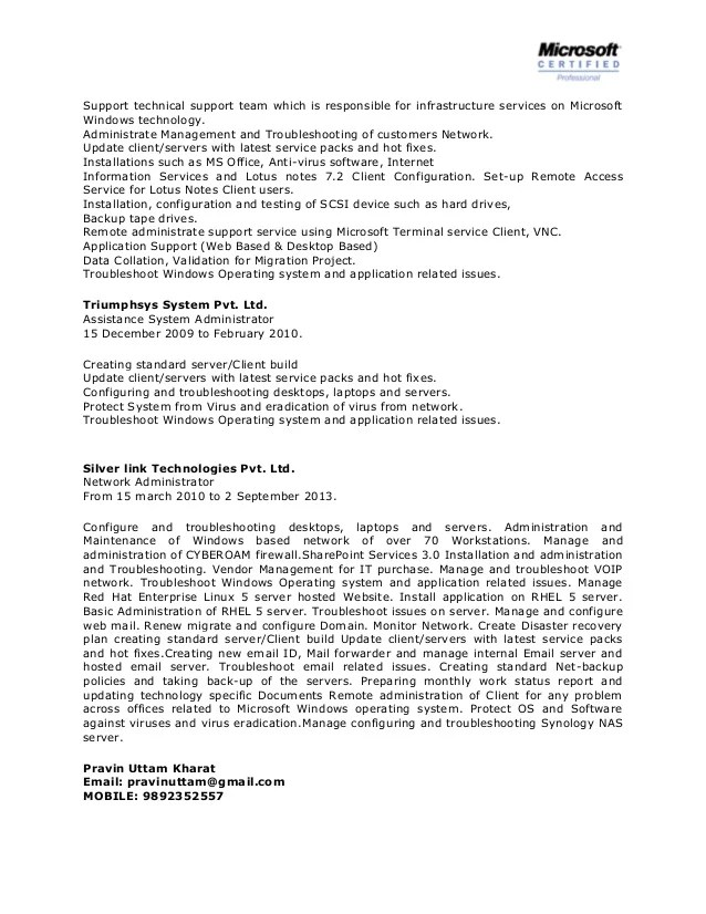 click here to download this jr network administrator resume ...