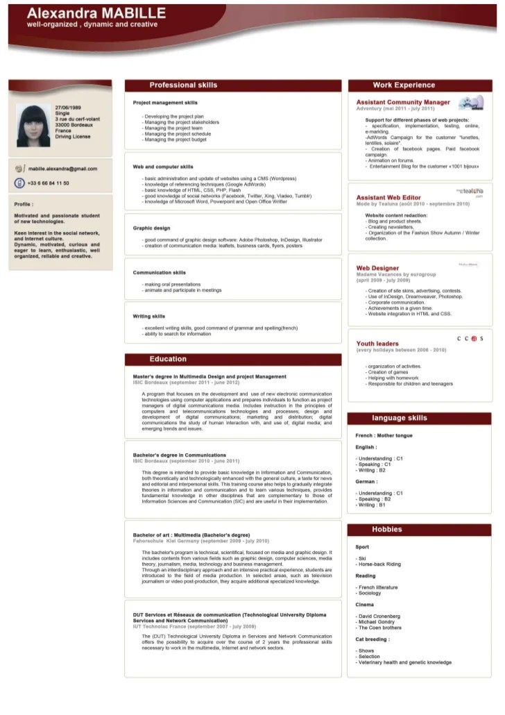 site por faire son cv
